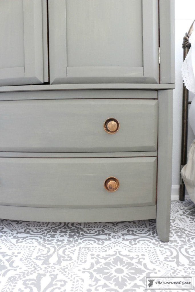 TV Armoire Makeover-6