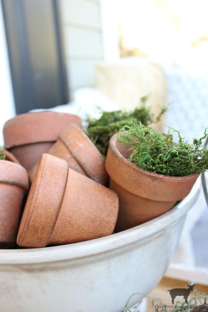Spring-Front-Porch-Ideas-and-Blog-Hop-The-Crowned-Goat-5 Make at Home Lavender Gardener's Hand Scrub Crafts DIY Spring Summer