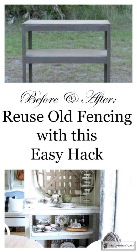 A Simple Way to Repurpose Old Fencing-The Crowned Goat-3