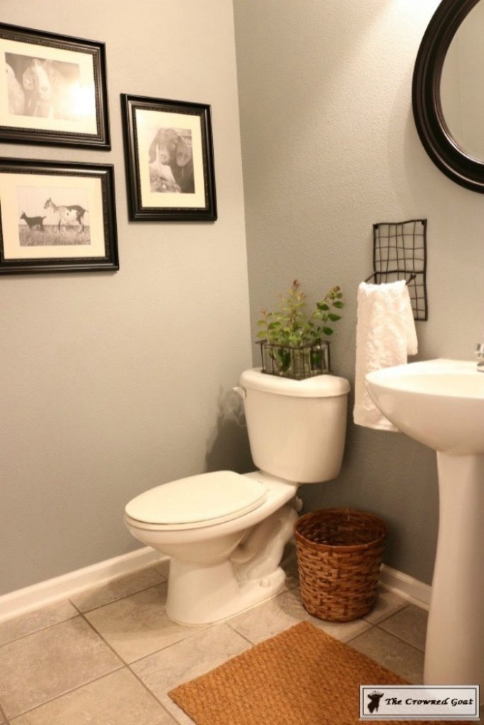 Adding-Board-and-Batten-to-the-Half-Bathroom-2-684x1024 Half-Bath Makeover Decorating DIY