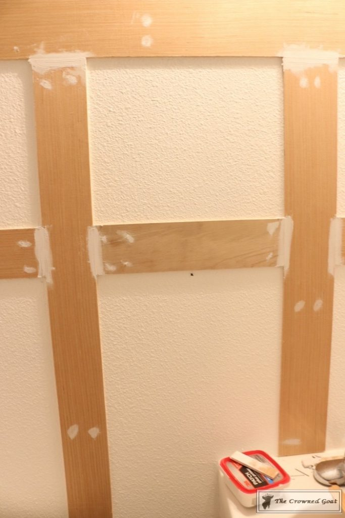 Adding-Board-and-Batten-to-the-Half-Bathroom-6-683x1024 Half-Bath Makeover Decorating DIY