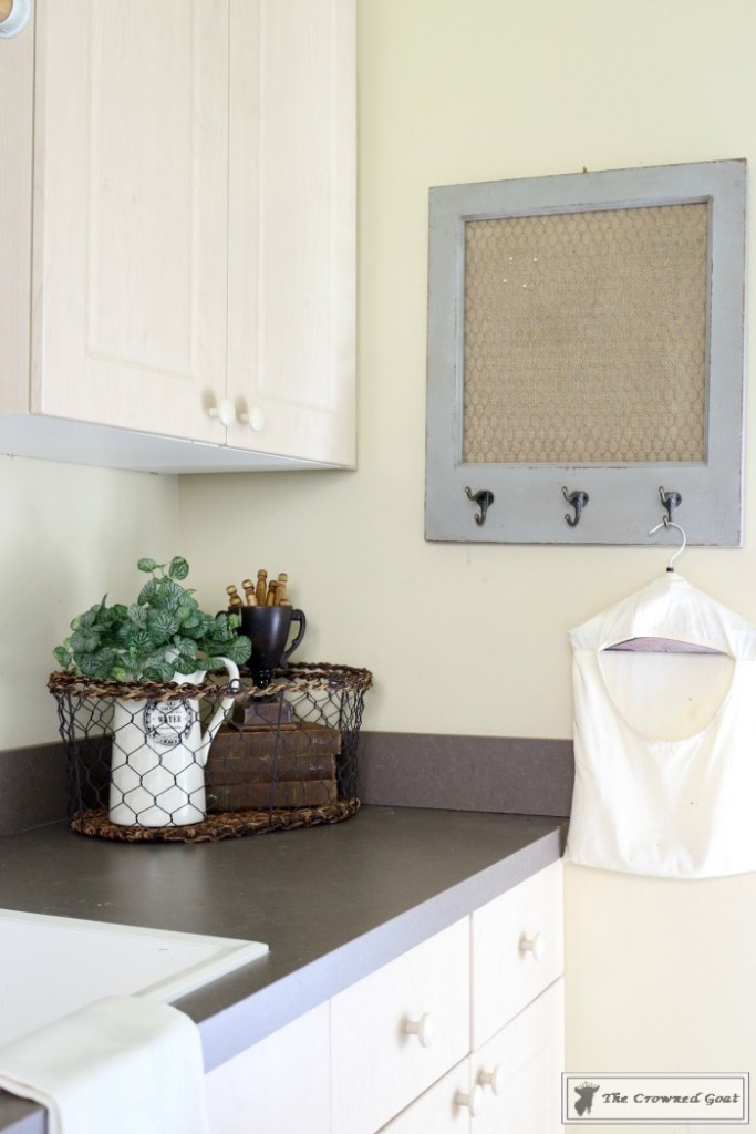 French Country Laundry Room Makeover-17