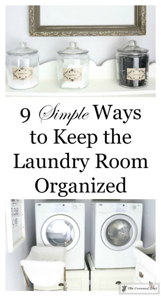 Nine Ways to Keep the Laundry Room Organized-1