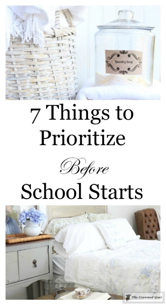 Things to Organize Before School Starts-1