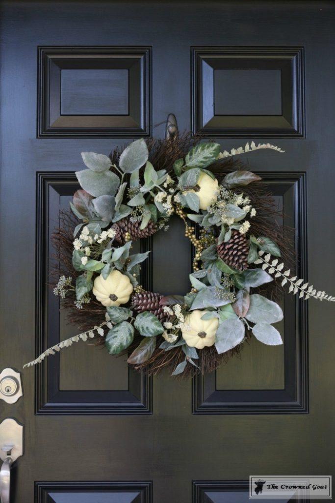 Easy-Fall-Door-Decor-Ideas-8-683x1024 Fall Wreaths & Autumn Inspired Door Décor DIY Fall Holidays