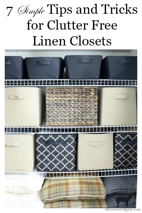 Tips-and-Tricks-for-Clutter-Free-Linen-Closets-The-Crowned-Goat-15 Tips & Tricks for Clutter Free Linen Closets DIY Organization