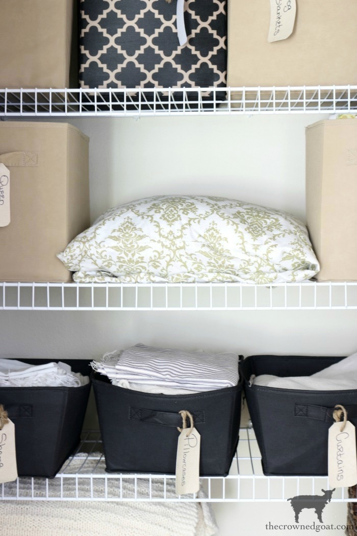 Tips-and-Tricks-for-Clutter-Free-Linen-Closets-The-Crowned-Goat-7 Tips & Tricks for Clutter Free Linen Closets DIY Organization