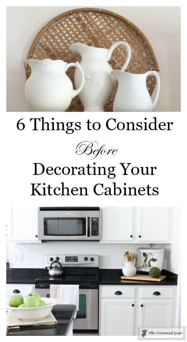 Decorating Kitchen Cabinets-The Crowned Goat-6
