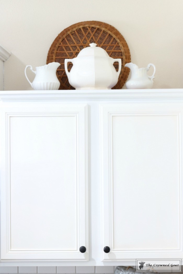 Decorating Kitchen Cabinets-The Crowned Goat-8