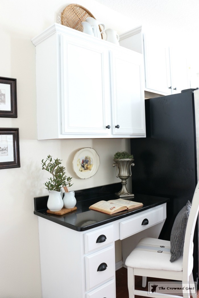 Decorating-the-Kitchen-Cabinets-The-Crowned-Goat-12 Decorating Above Kitchen Cabinets Decorating DIY