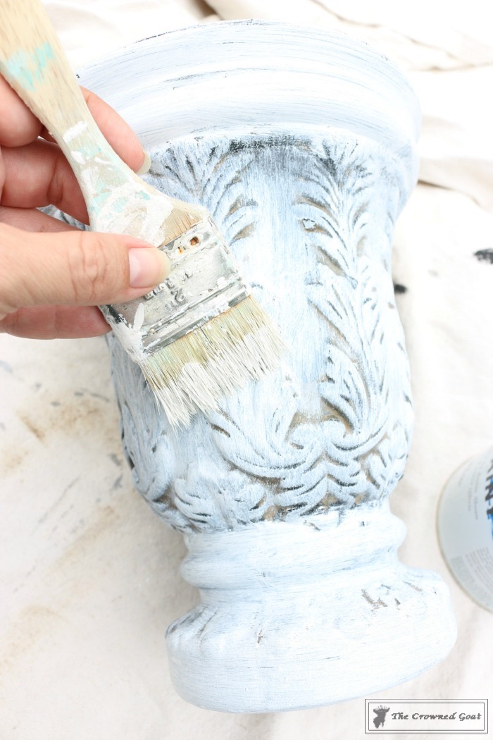 How-to-Give-New-Pots-Patina-The-Crowned-Goat-4 How to Give New Pots an Aged Patina DIY