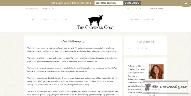 New-Website-The-Crowned-Goat-3A Our Website Makeover Heart Stuff