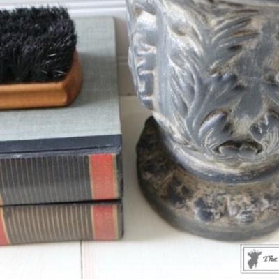 How to Give New Pots an Aged Patina