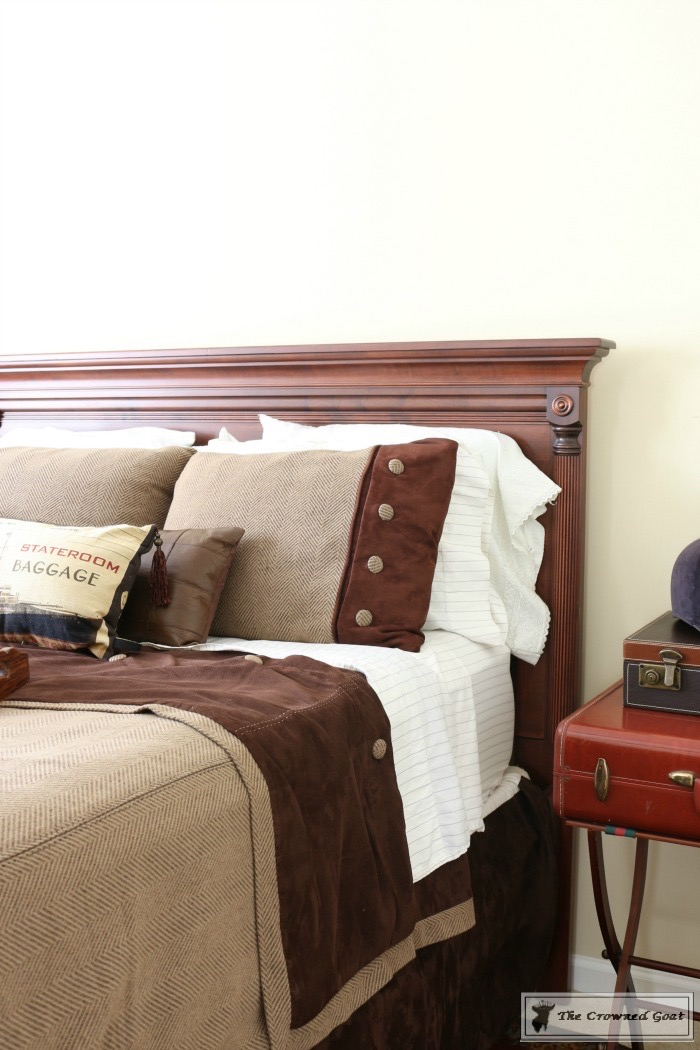 Masculine-Bedroom-Refresh-The-Crowned-Goat-10 Masculine Inspired Bedroom Refresh Decorating