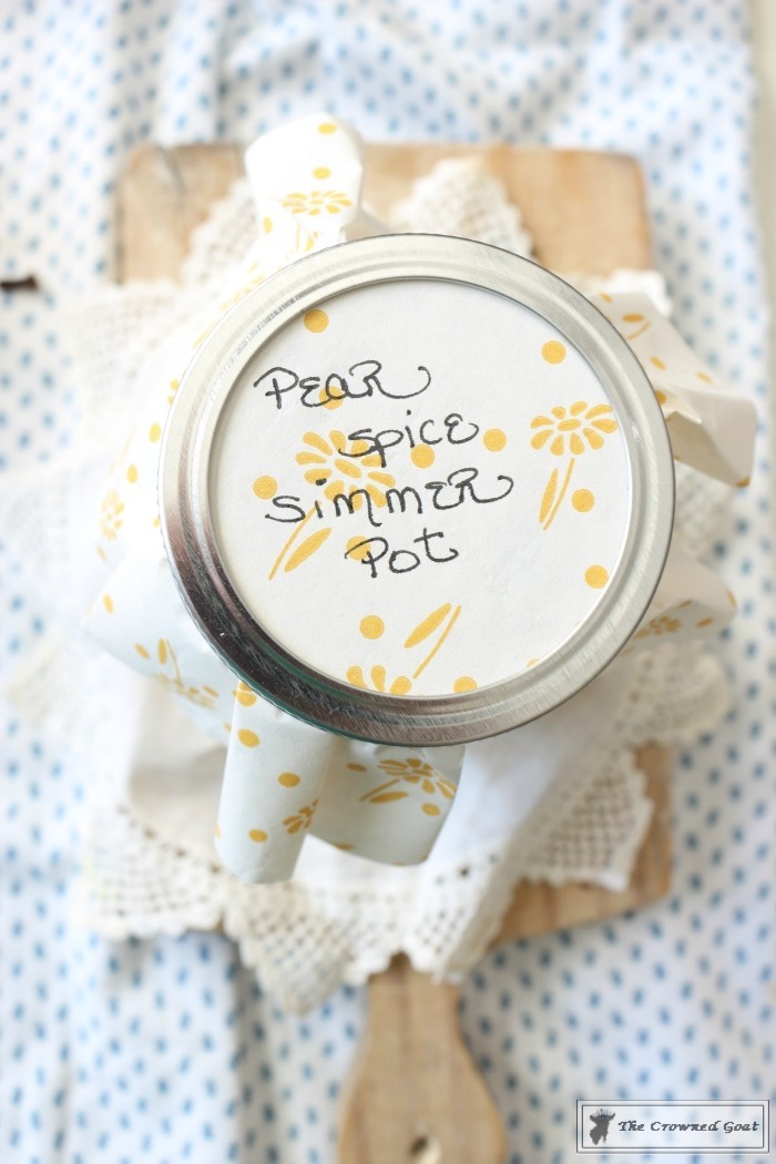Pear-Spice-Simmer-Pot-The-Crowned-Goat-7 Pear Spice Simmer Pot DIY