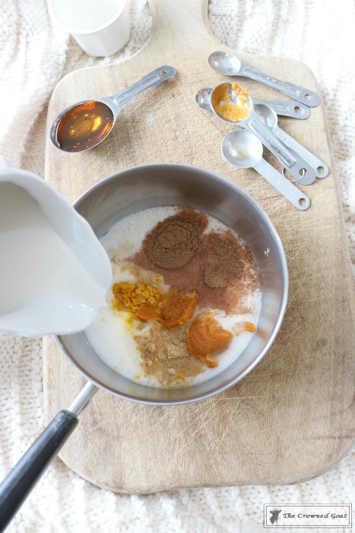 Pumpkin-Spice-Golden-Milk-Latte-The-Crowned-Goat-3 Pumpkin Spice Golden Milk Latte Baking Fall