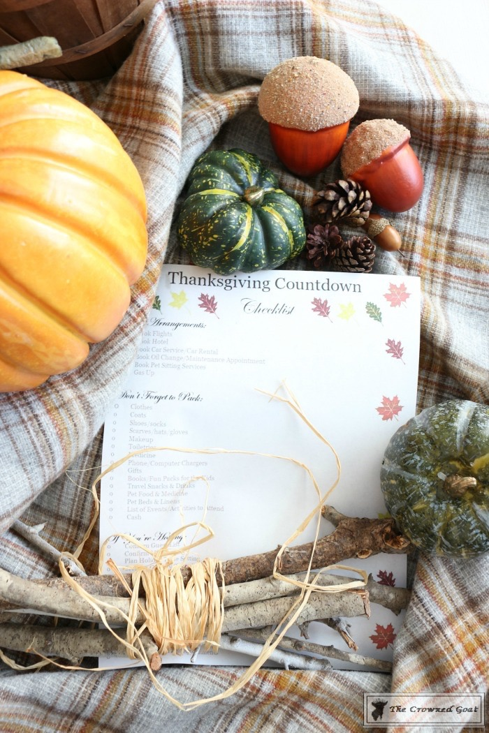 Thanksgiving-Countdown-Planning-Guide-The-Crowned-Goat-2 Easy Thanksgiving Planning Guide and a Free Printable Fall Organization