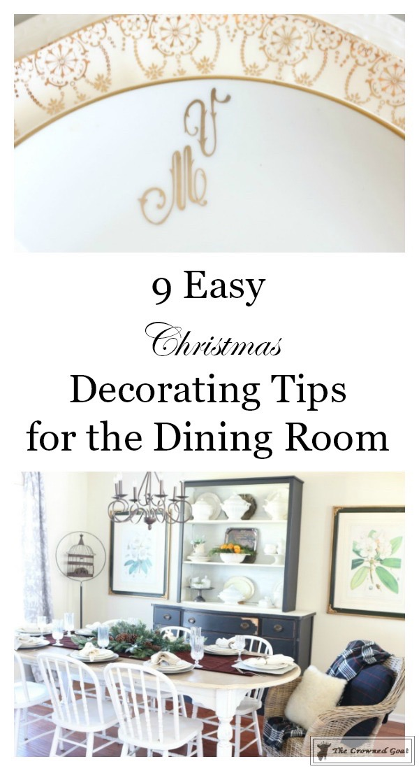 Christmas-Decorating-Tips-For-The-Dining-Room-The-Crowned-Goat-1 9 Christmas Decorating Tips for the Dining Room Uncategorized