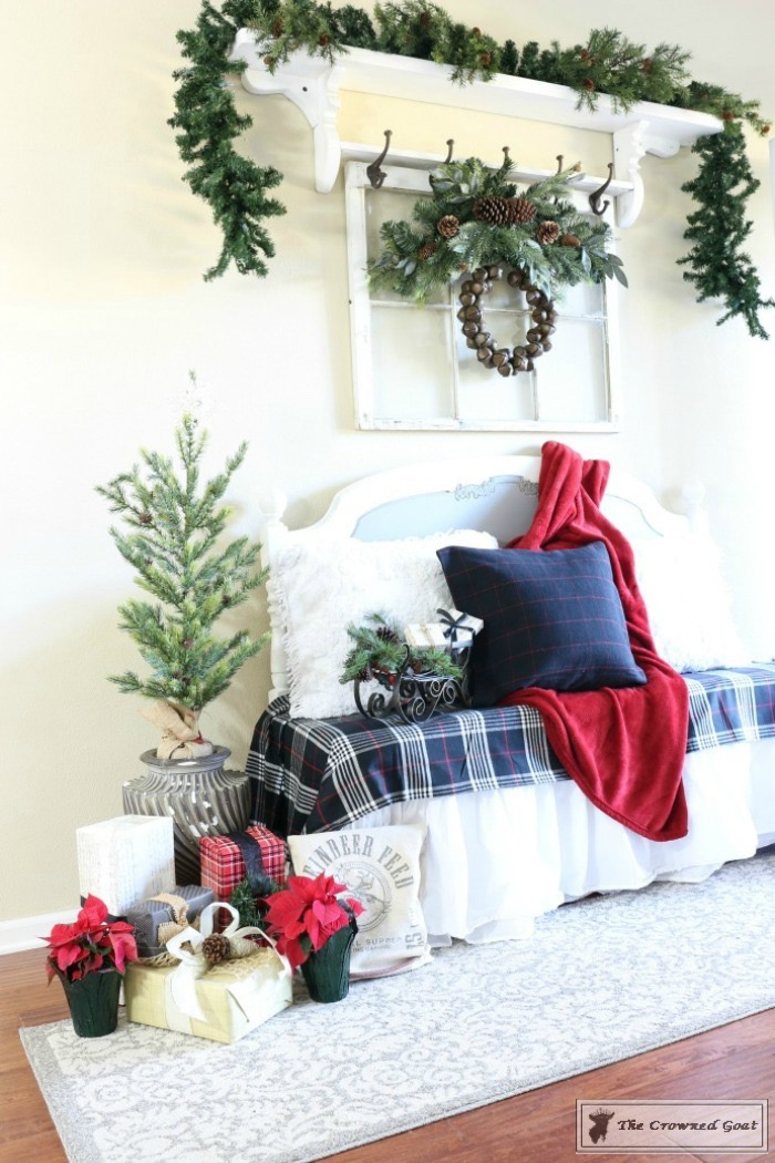 Simple-Tips-for-Christmas-Entry-Decorating-The-Crowned-Goat-8-copy Mad for Plaid Christmas Entry Christmas