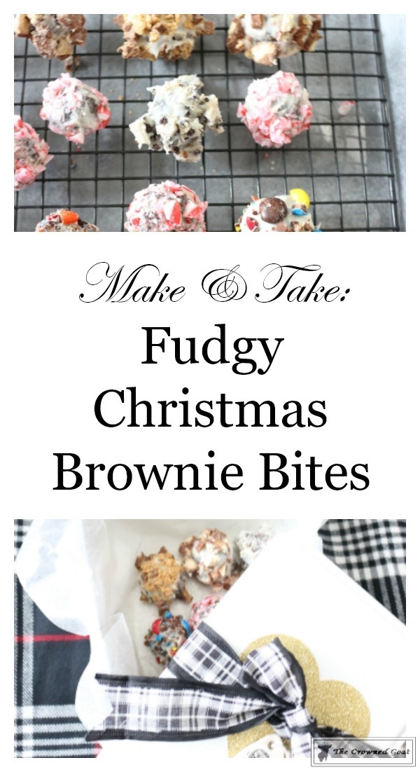 Fudgy-Christmas-Brownie-Bites-The-Crowned-Goat-1 Fudgy Christmas Brownie Bites Baking Christmas