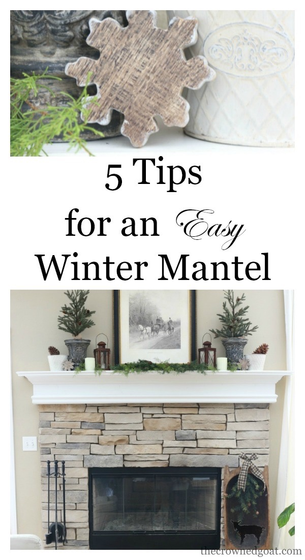 The-Easiest-Way-to-Style-a-Mantel-The-Crowned-Goat-1 The Easiest Way to Style a Mantel Back to Basic