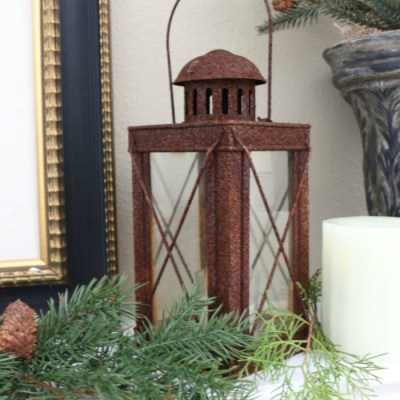 The Easiest Way to Style a Mantel