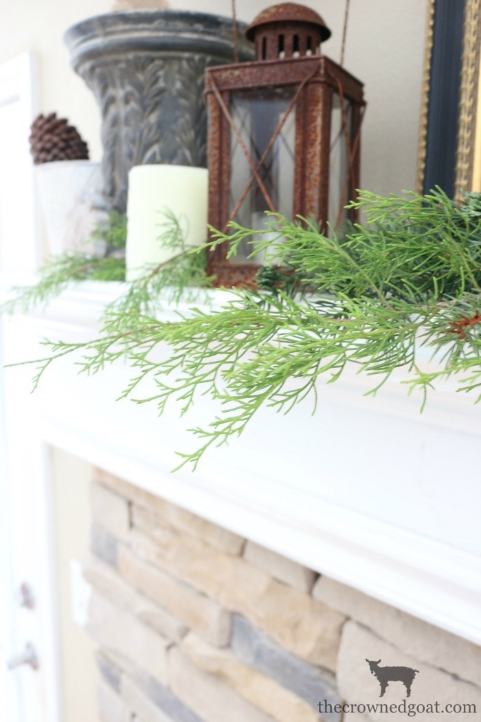 The-Easiest-Way-to-Style-a-Mantel-The-Crowned-Goat-6 The Easiest Way to Style a Mantel Back to Basic