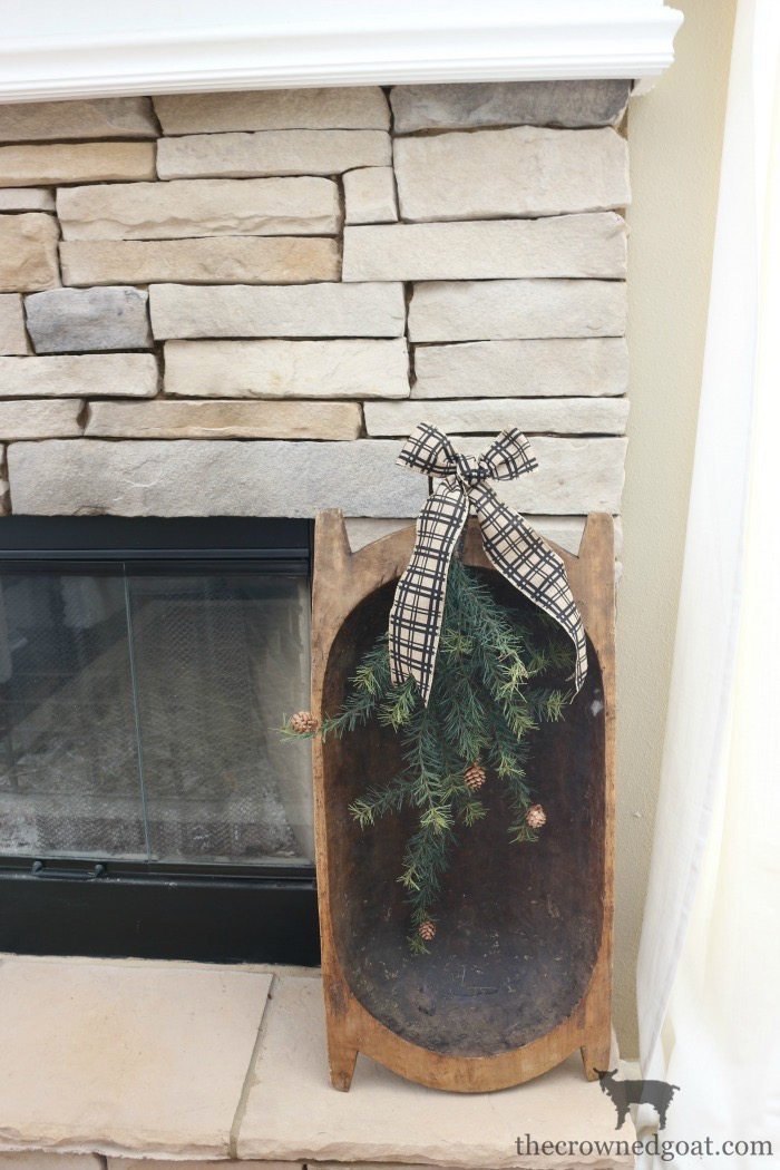 The-Easiest-Way-to-Style-a-Mantel-The-Crowned-Goat-8 The Easiest Way to Style a Mantel Back to Basic