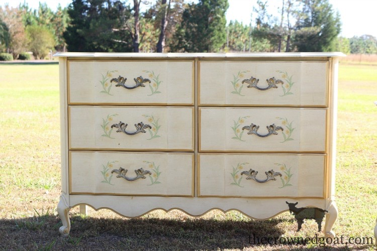 The-Horse-Farm-Project-Dresser-Makeover-The-Crowned-Goat-1 The Horse Farm Project: Painting Dressers & Nightstands DIY Painted Furniture