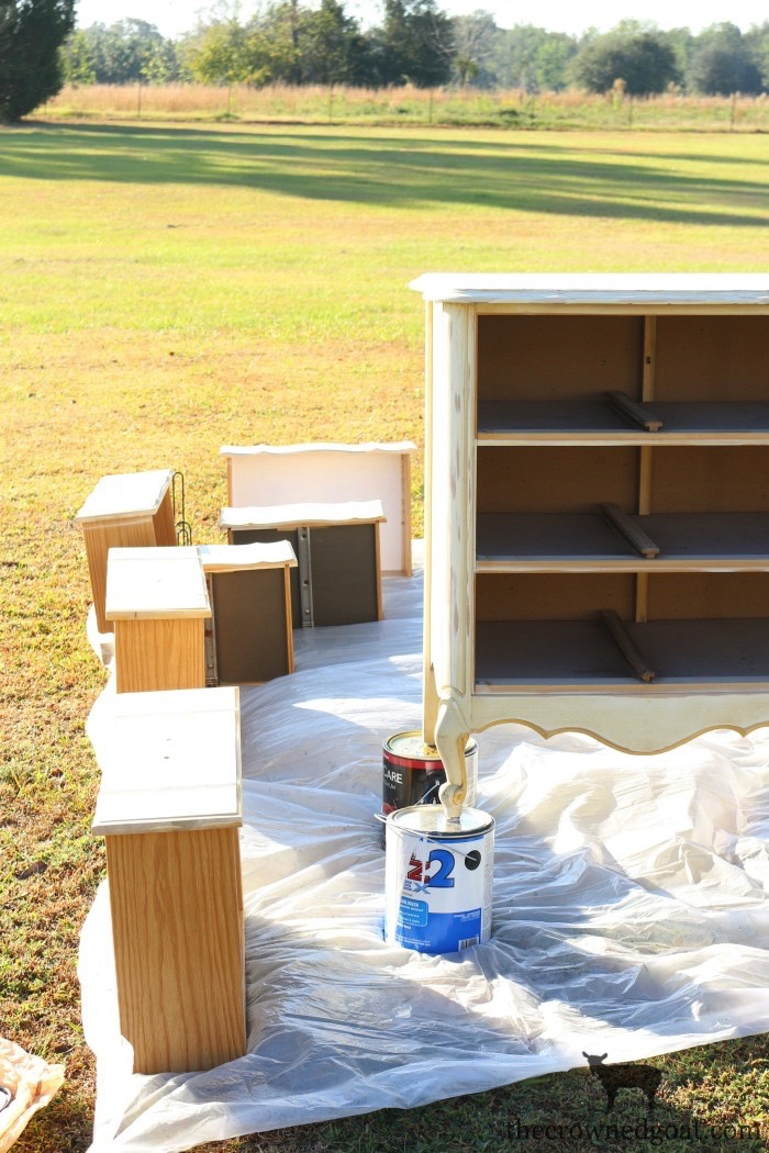The-Horse-Farm-Project-Dresser-Makeover-The-Crowned-Goat-6 The Horse Farm Project: Painting Dressers & Nightstands DIY Painted Furniture