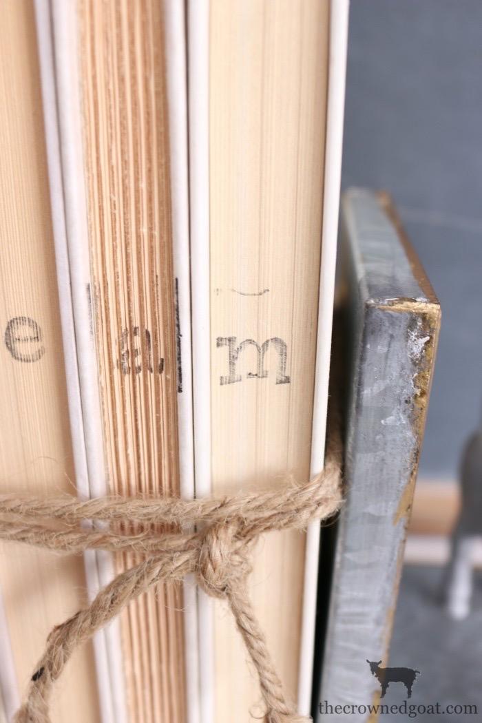 DIY-Stamped-Books-The-Crowned-Goat-9 DIY Stamped Books Crafts DIY