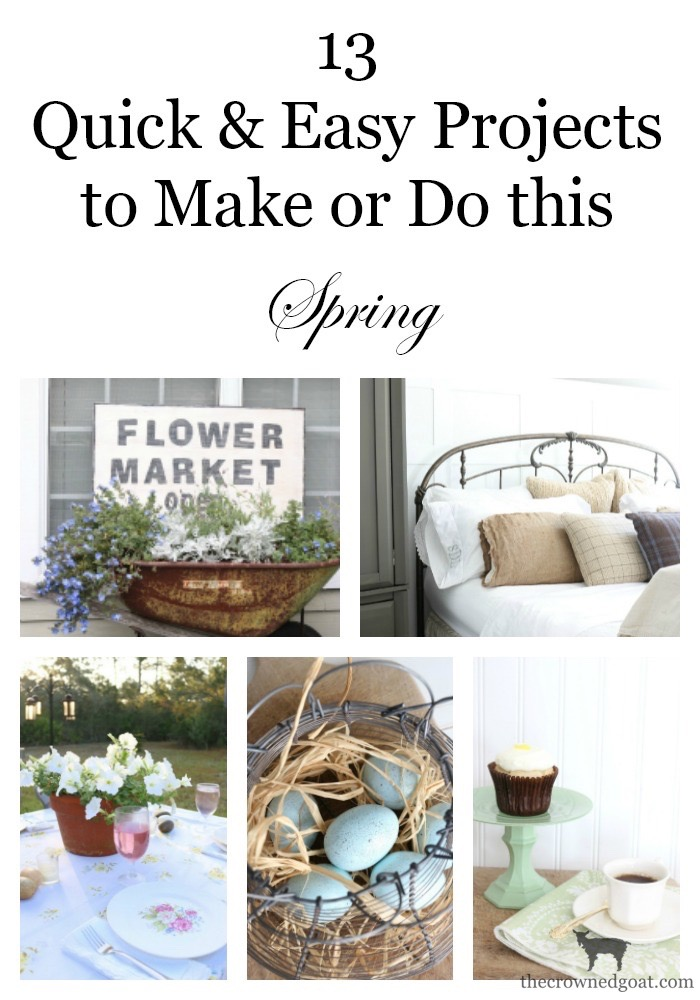 Easy-Spring-DIY-Ideas-The-Crowned-Goat-1 13 Quick & Easy Spring DIY Projects Spring
