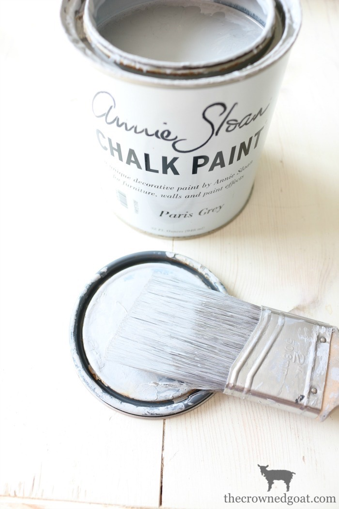 How-to-Paint-Furniture-with-Chalk-Paint-The-Crowned-Goat-10 Back to Basics Series: Chalk Painting Furniture 101 Back to Basic