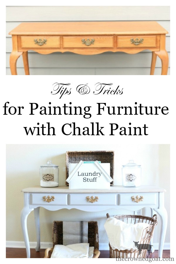 How-to-Paint-Furniture-with-Chalk-Paint-The-Crowned-Goat-3 Back to Basics Series: Chalk Painting Furniture 101 Back to Basic