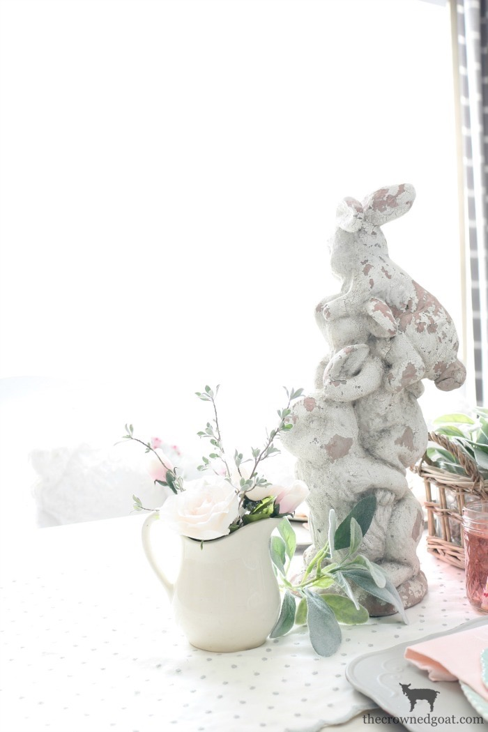 Breakfast-Nook-Spring-Tablescape-Ideas-The-Crowned-Goat-12 Spring Tablescape in the Breakfast Nook Spring