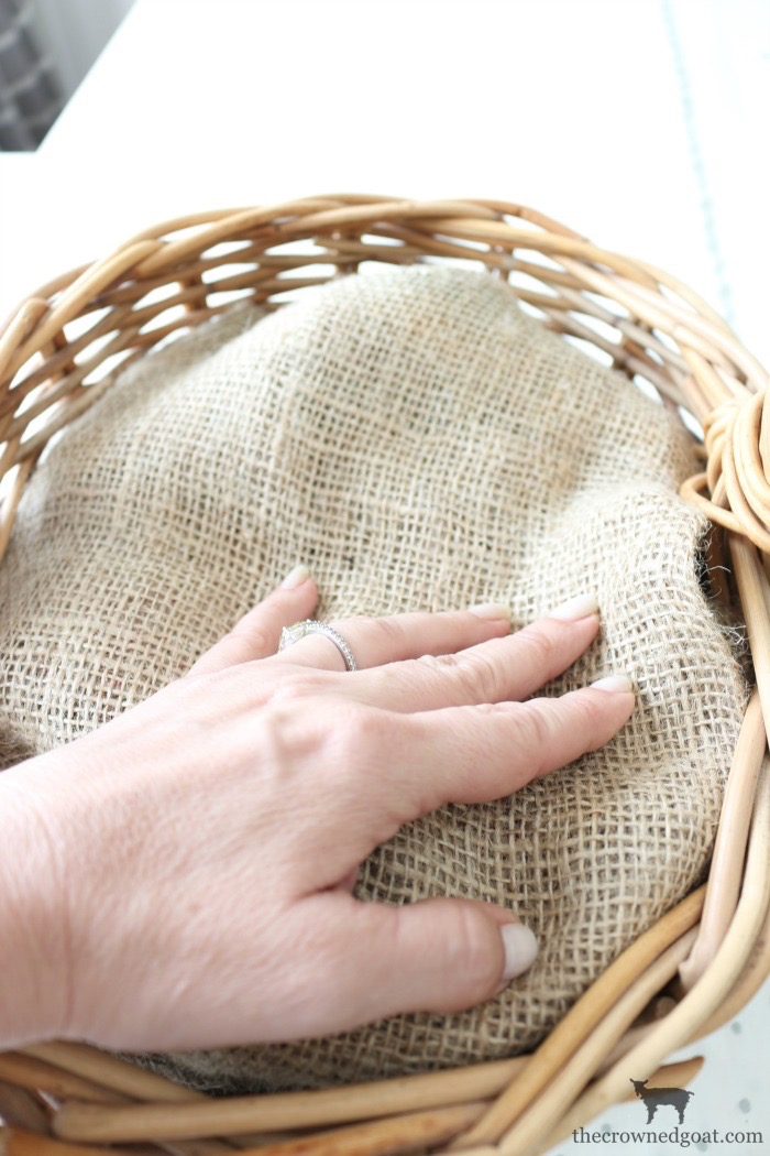 How-to-Make-a-Simple-Easter-Basket-Centerpiece-The-Crowned-Goat-7 Easter Basket Centerpiece Spring