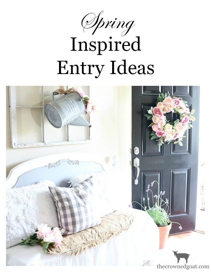 Spring-Entry-Decorating-Ideas-The-Crowned-Goat-14 Spring Inspired Entry Spring