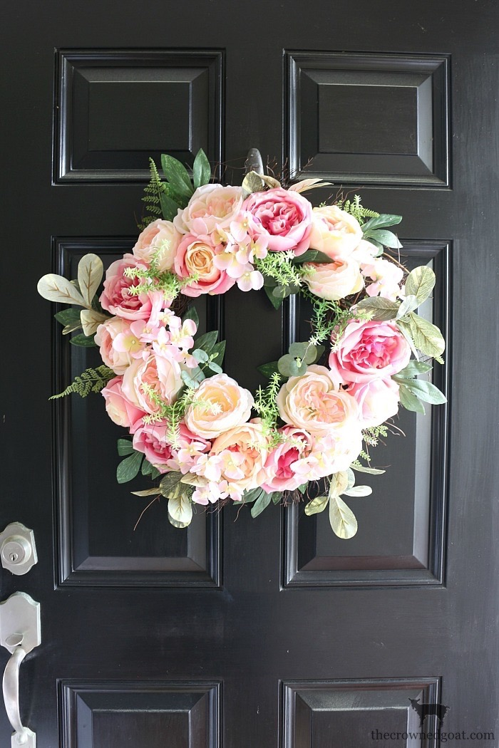 Spring-Entry-Decorating-Ideas-The-Crowned-Goat-3 Spring Inspired Entry Spring