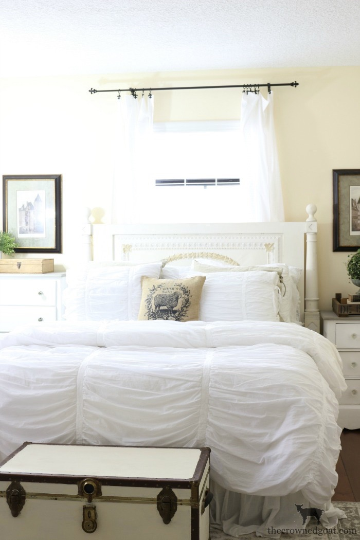 Easy-Master-Bedroom-Changes-The-Crowned-Goat-8 Loblolly Manor: Master Bedroom Progress Update Loblolly_Manor