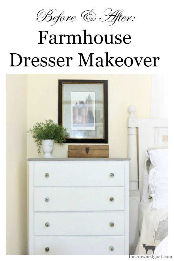 Farmhouse-Dresser-Makeover-The-Crowned-Goat-11 Farmhouse Dresser Makeover Painted Furniture