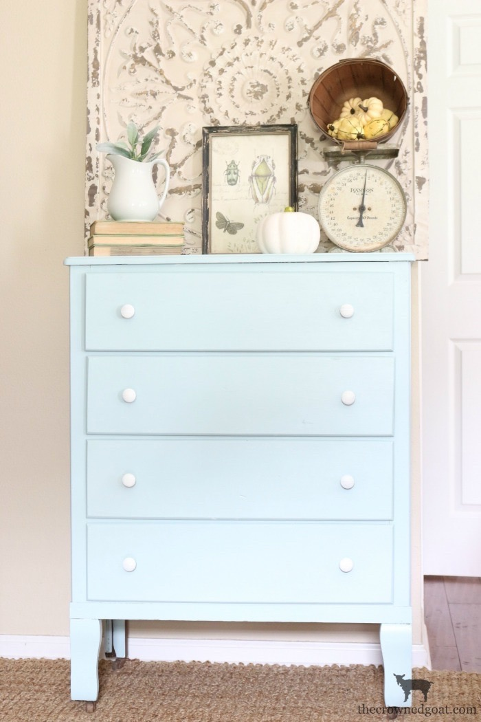 Farmhouse-Dresser-Makeover-The-Crowned-Goat-3 Farmhouse Dresser Makeover Painted Furniture