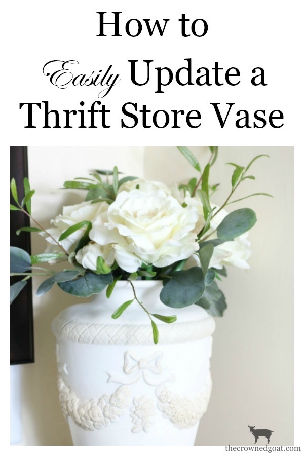 How-to-Update-a-Thrift-Store-Vase-The-Crowned-Goat-14 How to Easily Update a Thrift Store Vase Decorating Loblolly_Manor