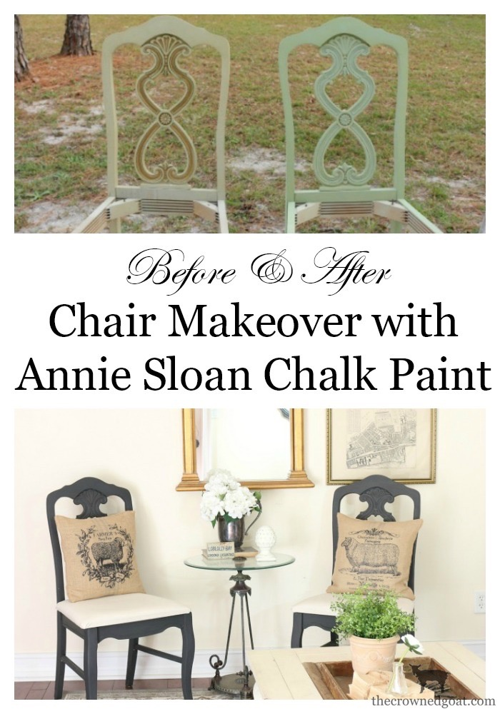 Milk-Paint-to-Chalk-Paint-Chair-Makeover-The-Crowned-Goat-14 Milk Paint to Chalk Paint Chair Makeover Painted Furniture