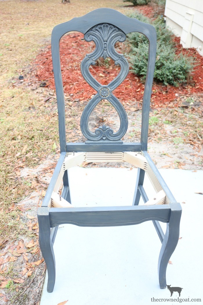 Milk-Paint-to-Chalk-Paint-Chair-Makeover-The-Crowned-Goat-7 Milk Paint to Chalk Paint Chair Makeover Painted Furniture