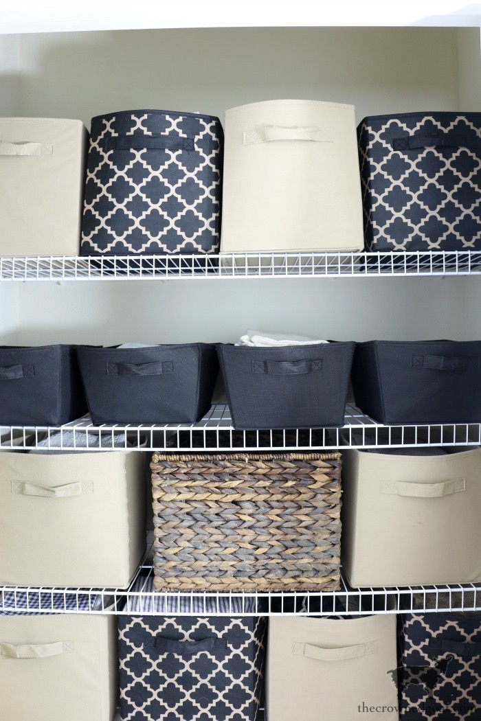 Tips-and-Tricks-for-Clutter-Free-Linen-Closets-The-Crowned-Goat-5 Spring Cleaning & Organizing Task List Organization
