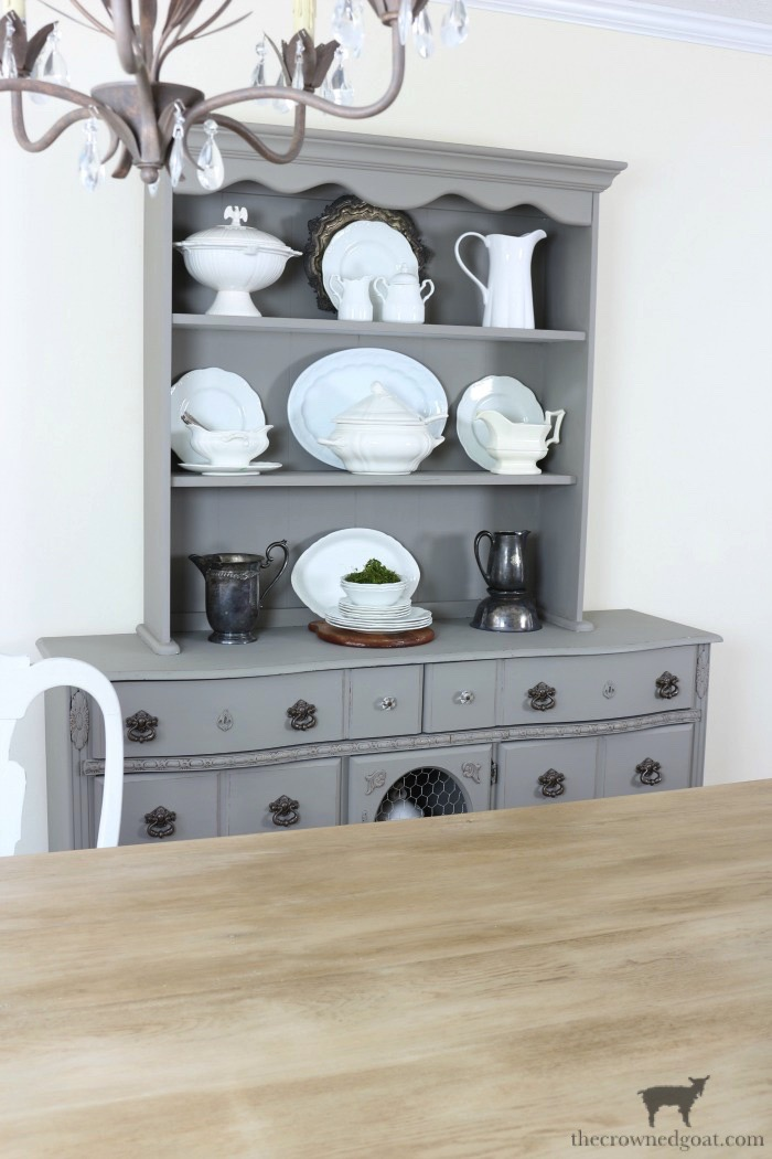 Tips-for-Styling-a-Dining-Room-Hutch-The-Crowned-Goat-18 Eight Easy Tips for Styling a Dining Room Hutch Decorating Loblolly_Manor