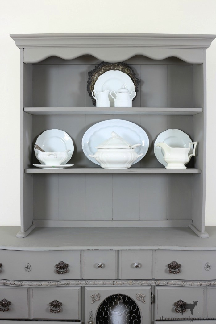 Tips-for-Styling-a-Dining-Room-Hutch-The-Crowned-Goat-9 Eight Easy Tips for Styling a Dining Room Hutch Decorating Loblolly_Manor