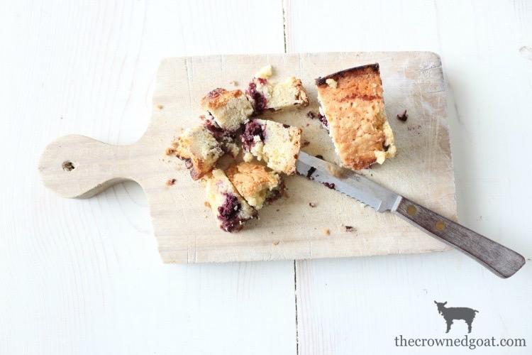 Blackberry-Pound-Cake-Sundaes-The-Crowned-Goat-11 Blackberry Pound Cake Sundaes Baking Summer