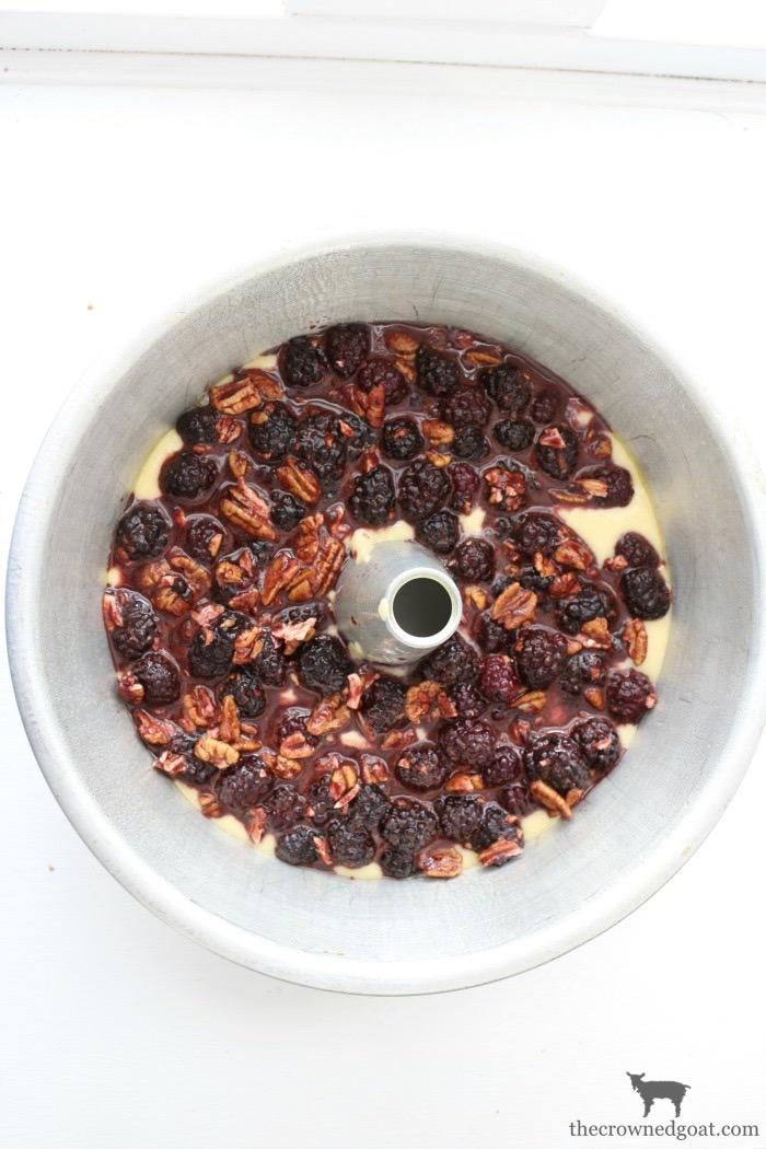Blackberry-Pound-Cake-Sundaes-The-Crowned-Goat-7 Blackberry Pound Cake Sundaes Baking Summer