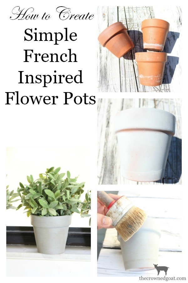 French-Inspired-Flower-Pots-The-Crowned-Goat-11 French Inspired Flower Pots Decorating DIY Loblolly_Manor